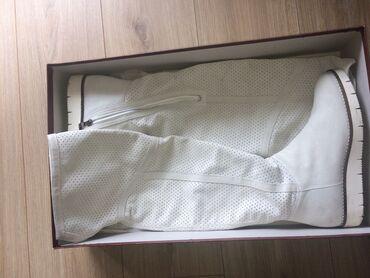 Zenske letnje cizme, 1x nosene, broj 37, kozne, Antonella Rosii