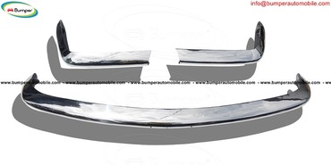 Fiat 124 Spider bumper (1966–1975) in stainless steel   in Banepa