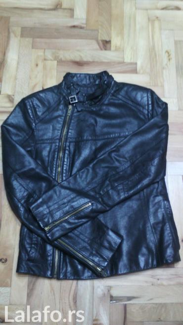 Ženska kožna jakna, vel s, kupljena u francuskoj, nošena, bez oštećenj - Zrenjanin