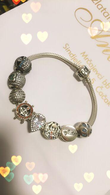 Pandora privesciSrebro 925Izaberite vašeI narukvice pandora na prodaju