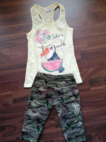 Dečija odeća i obuća   Ruma: Komplet nove garderobe za devojčicu, veličina 6