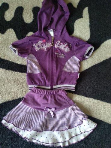 Продам костюмчик б/у на малышку до 6 мес. в Бишкек