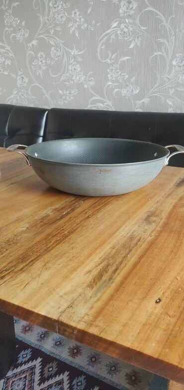 Фирменные вок казан (диаметр 30см) и сковорода (диаметр 28 см) Оба с