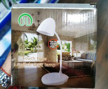 Kućni dekor - Bela Palanka: Stona lampa na tac  IMA VISE KOMADA NA STANJU STANJE : NOVO / NE KORIS