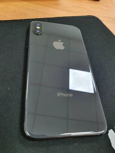 Apple Iphone в Кыргызстан: Продаю Iphone X 64GB black, отличное состояние, полный комплект, цена
