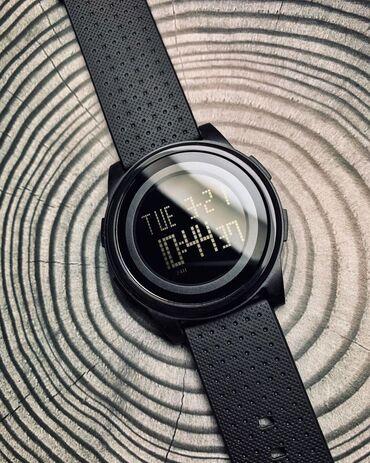 Получить электронный пропуск в бишкеке - Кыргызстан: Черные Унисекс Наручные часы Skmei