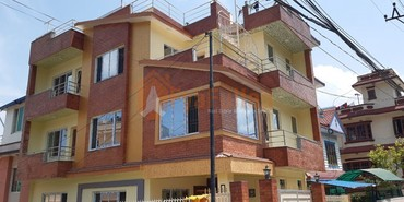 A new and strongly built house having land area 0-4-0-0 of 2.5 floors, in Kathmandu