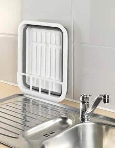 Kuća i bašta - Vladicin Han: 990 dinSklopivi silikonski odlagač za sudove je praktičan i štedi