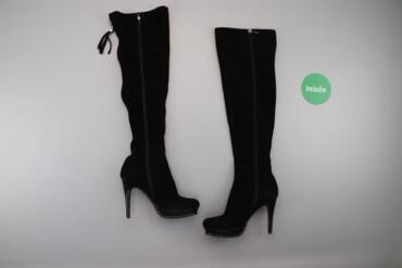 Женская обувь - Украина: Жіночі замшеві ботфорти на шпильці Reuchll, p. 37     Довжина устілки