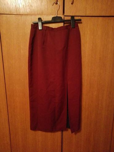 Bordo-torba - Srbija: Bordo suknja vel m