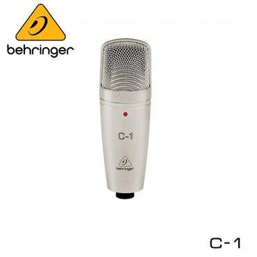Микрофон конденсаторный со встроенным аудио-интерфейсом Behringer