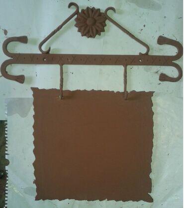 Prodajem metalnu-kovanu tablu za kućni broj sa slike, tabla debljine