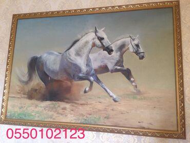 Декор для дома - Кыргызстан: Картина маслом. Размер 120х80см без рамки. Самовывоз или доставим за о