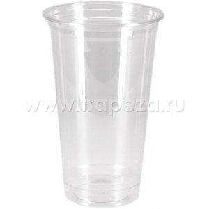 Стакан 500мл D 95мм пластик прозрачный. в Бишкек