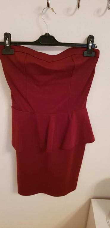 Haljine | Vrsac: Bordo top haljina Terranova  novo