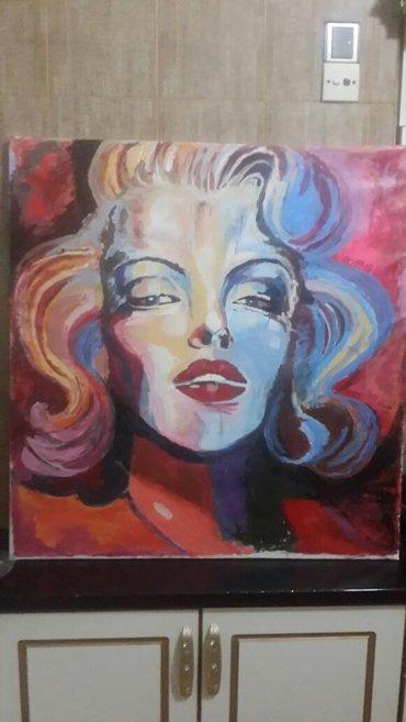 Bakı şəhərində Картина в стиле поп арт, размер 1м на 1 м