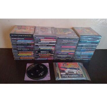 Коллекция дисков и консолей PS1, PSOne. Плюс разная мелочь.Диски 120