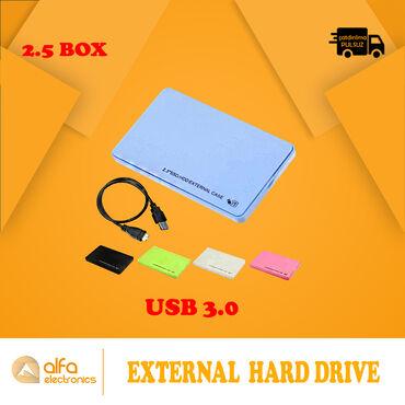 """""""Hdd Box"""" la siz öz hard diskinizi Usb ilə bağlanan xarici sərt disk"""