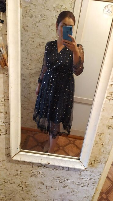 черное платье на свадьбу в Кыргызстан: Платье женское красивое и очень удобное лёгкое одевало только один раз
