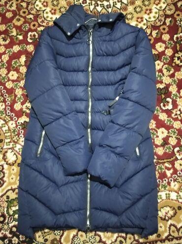 Куртка почти новая срочна сатылат жакасында пуховик бар натуральный