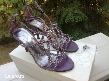 Sandale+rezervne flekice, kao nove, br. 36, štikla 8 cm - Belgrade