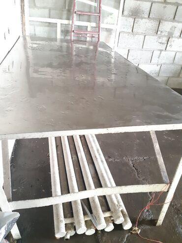 Услуги - Александровка: Разделочный стол нержавейка длина 2 метра ширина метр 10.000 сом