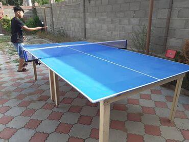 Теннисный столМатериал деревоМировой стандарт высота 76 см. длина 274