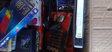 Электроника - Кой-Таш: Видео кассеты. Как новье. Чистье.гдето.45Штук.Или пядесят