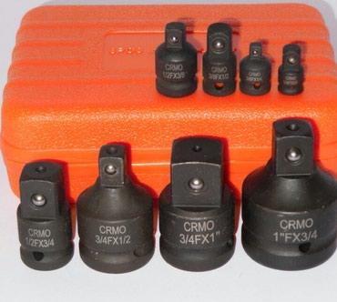 Fly-iq4400-era-nano-8 - Srbija: Set adaptera za nasadne kljuceve 8kom  2.500din  Set adaptera 8kom