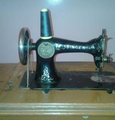 Saatlıda: 1886-cı ilin orginal Singer tikiş maşını satilır! +8