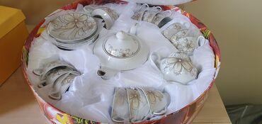 Дом и сад - Кыргызстан: Продаю чайный сервиз