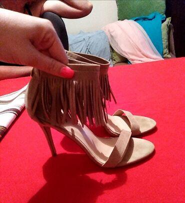 Personalni proizvodi | Cacak: Sandale sa resama, prelepe, nove, nikada obuvene. 41 broj
