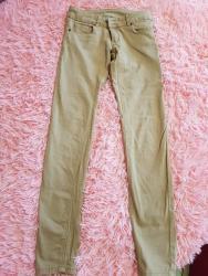Женские брюки в Кыргызстан: Джинсы х/б, размер 44, состояние отличное, за 250 сом или обмен на де
