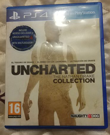 Uncharted Nathan Drake collection, (рус. субтитры) в Бишкек