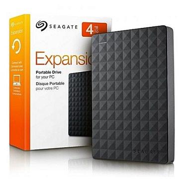 Kompüter üçün komplektləyicilər Bakıda: HDD Seagate 4TB ExpansionXarici HDD Seagate 4TB Form-faktor: 2.5 Həcm