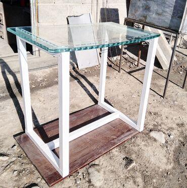 Продаю Подставка лофт стеклянная доска сделанный собственными руками
