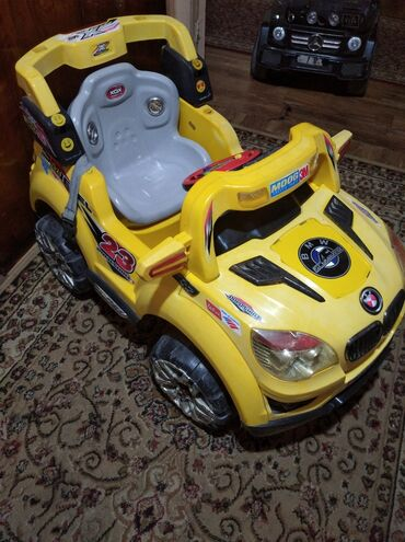 689 объявлений: Детская машинка в нормальном состоянии рабочая ( без пульта)