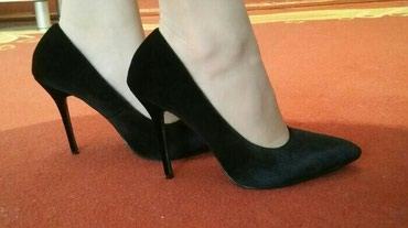 •OPPOSITE• Elegantne cipele,materijal plis. Broj 40 - Crvenka