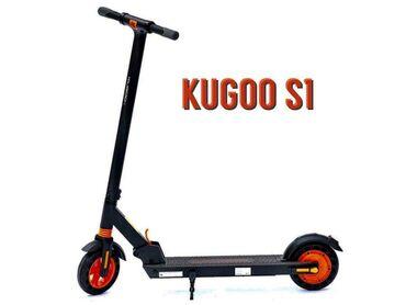электросамокаиы в Кыргызстан: Электросамокат Kugoo S1 - отличный вариант для передвижений по городу