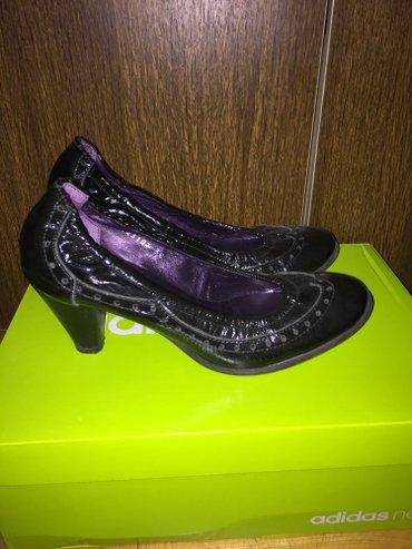 Cipele kozne, lakovane, u odlicnom stanju, mnogo su udobne. Skupo - Sokobanja