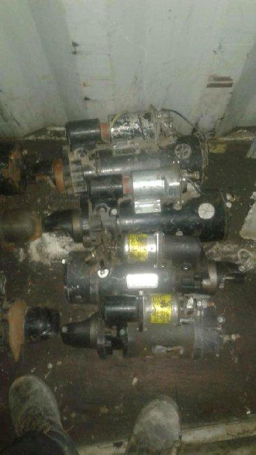 генераторы kraft в Кыргызстан: Продаю стартер и генераторы 12 в 24 в