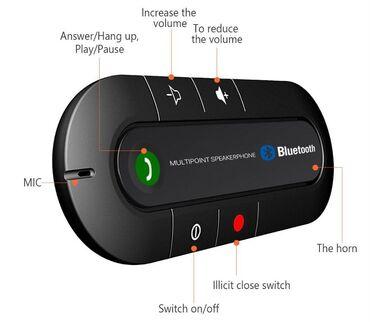 Kamion - Srbija: Bluetooth Blutut Handsfree za auto spikerfon telefonBluetooth