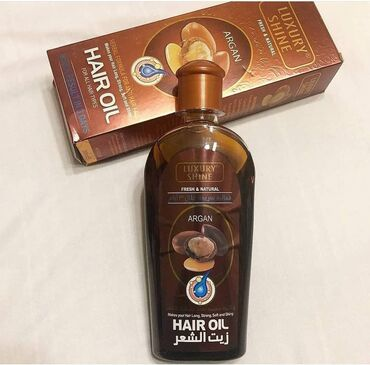 Argan Saç Yağı, yüksək keyfiyyətli soyuq preslənmiş yağlar ehtiva edən