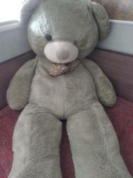 """шкуры медведя в Кыргызстан: Мягкая игрушка медведя. Зовут """"Патапыч""""  Нет левого глаза и заела заст"""