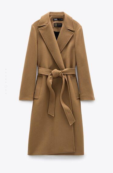 Продаю пальто от ZARA .В составе 75%шерсти в размере М обсолютно