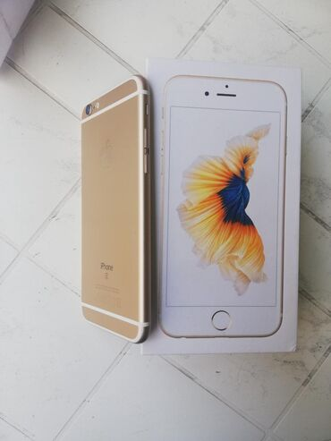 Iphone 6s gold Sim free Baterija 100%