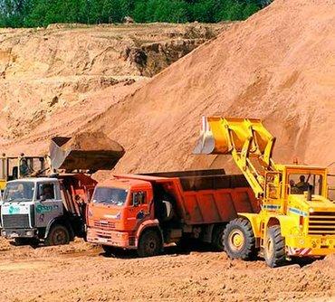 Песок в Кыргызстан: Песок мытый с карьера камаз Кант Первомай