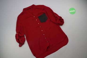 Жіноча сорочка з кишенею Yendi, р. XL  Довжина: 64/72 см Довжина рукав