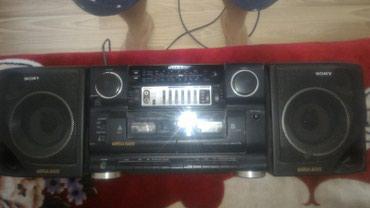 Магнитофон Япония sony aux радио кассета цена 5000 в Novopokrovka