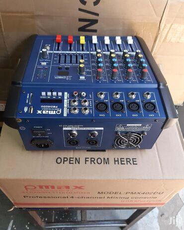 Aktiv mixer sesguclendirici karaoke ucun elveriwlidir Rahat kalonka d